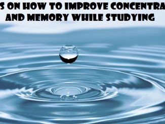 how to improve concentration and memory while studying