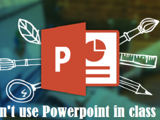 use Powerpoint in class