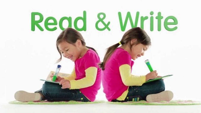 learning to read and write