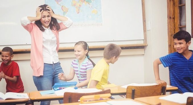 How to handle misbehaving students