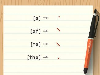 How to learn shorthand writing