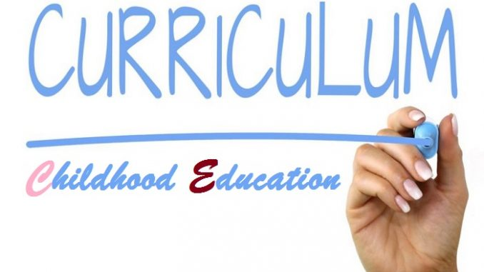 why is curriculum important in early childhood education